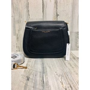 NWT Empire City Messenger Leather Crossbody